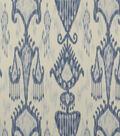 Home Decor 8\u0022x8\u0022 Fabric Swatch-Print Fabric Robert Allen Khandar Indigo