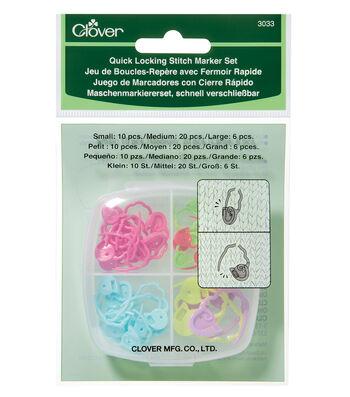 Clover 36 Pack Quick Locking Stitch Maker Set