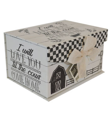 Organizing Essentials Small Fliptop Storage Box-Country Thoughts 2
