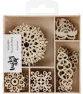 Themed Mini Wooden Flourishes-Bollywood