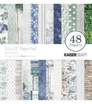 Kaisercraft Wandering Ivy 48-sheets 12''x12'' Paper Pad, , hi-res