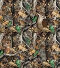 Realtree Fleece Fabric -Camo Deer