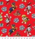 Nick Junior Paw Patrol Cotton Fabric -Tossed