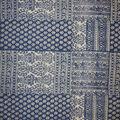 Lightweight Décor Fabric-Blue Patch Heavy Print