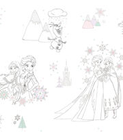 York Wallcoverings Wallpaper-Disney Frozen, , hi-res