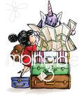 Stamping Bella Cling Stamps-Rosie & Bernie Plan A Trip