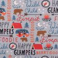 Blizzard Fleece Fabric-Wild Child Words