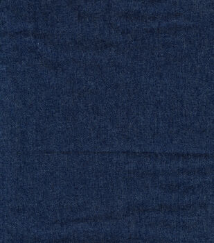 Sew Classic Bottom Weight Stretch Denim Fabric -Dark Wash