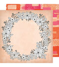Vicki Boutin Field Notes Double-Sided Cardstock 12\u0022X12\u0022-Choose To Shine
