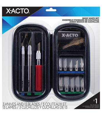 X-Acto Basic Knife Soft Case Set