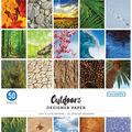 Colorbok 68lb Designer Single-Sided Paper 12\u0022X12\u0022-Outdoors, 25 Designs