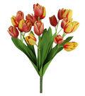 Fresh Picked Spring 18.5\u0027\u0027 Tulip Bush-Yellow & Pink
