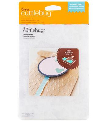 Cuttlebug Emboss 5x7 Cross My Heart