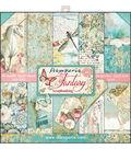 Stamperia Wonderland 10-sheets 12\u0027\u0027x12\u0027\u0027 Double-Sided Paper Pad-Fantasy