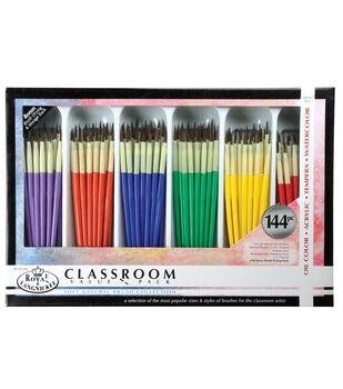 Royal & Langnickel Soft Natural Brush Classroom Value Pack