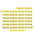 Dowling Magnets Magnetic Demonstration Number Line-10 to 120