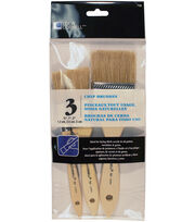 Loew-Cornell 3 pk Chip Brushes, , hi-res