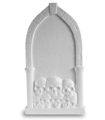 Floracraft Styrofoam Tombstone Skulls