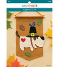Little Makers Felt Banner Kit-Dog