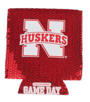 University of Nebraska Cornhuskers Sequin Koozie, , hi-res