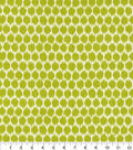 Home Decor 8\u0022x8\u0022 Fabric Swatch-Waverly Seeing Spots Wasabi