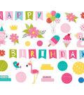 Bella Blvd Wish Big Girl Cardstock Die-Cuts-Birthday Girl