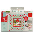 Storytime Quilt & Stuffie Kit-A Big Red Barn