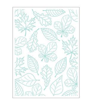 Park Lane A2 Embossing Folder-Fall Leaf