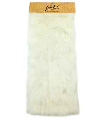 "Darice Designer Fur Deluxe12""x15""-White"