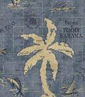 Home Decor 8\u0022x8\u0022 Fabric Swatch-TB Island Song Ocean