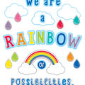 We Are a Rainbow of Possibilities Bulletin Board Set