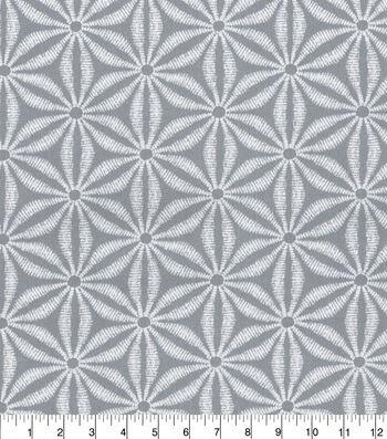 "Tommy Bahama Outdoor Fabric 13x13"" Swatch-Star Batik Silver Beach"