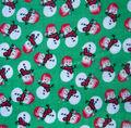 Noel Collection-Christmas Snowmen Green