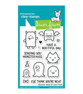 Lawn Fawn Clear Stamps 3\u0022X4\u0022-Monster Mash