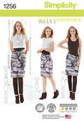Simplicity Pattern 1256A Xxs-Xs-S-M-Sportswear