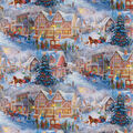 Christmas Cotton Fabric-Getting Ready for Christmas