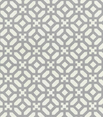 """Waverly Outdoor Fabric 54""""-In the Frame Pebble"""