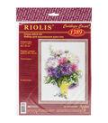 Riolis 11.75\u0027\u0027x15.75\u0027\u0027 Counted Cross Stitch Kit-Asters