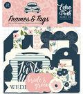 Echo Park Paper Co. 33 pk Die-cut Ephemera Cardstock-Frames & Tags
