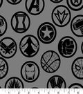 Marvel Avengers Cotton Fabric -Infinity War Badges