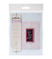 Spellbinders Small Embossing Folder-Floral, , hi-res