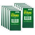 1/2\u0022 Green Presto-Stick Foil Star Stickers 12 Packs