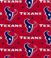Houston Texans Fleece Fabric 58''-Red, , hi-res