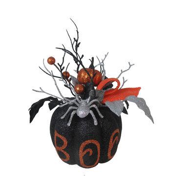Maker's Halloween Pumpkin Arrangement-Boo
