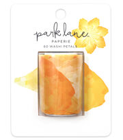 Park Lane Paperie 60 pk 50 mm Washi Petals-Yellow, , hi-res