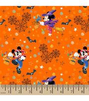 Disney Mickey & Minnie Cotton Fabric-Halloween Fun, , hi-res