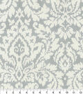 Waverly Upholstery Fabric 54\u0027\u0027-Silver Dashing Damask