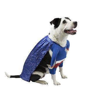 Maker's Halloween Pet Costume-Superhero X-Large