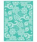 Cricut Cuttlebug Heather\u0027s Lace 5x7 Embossing Folder