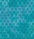 Keepsake Calico Cotton Blender Fabric 43\u0022-Blue & Green Tie Dye